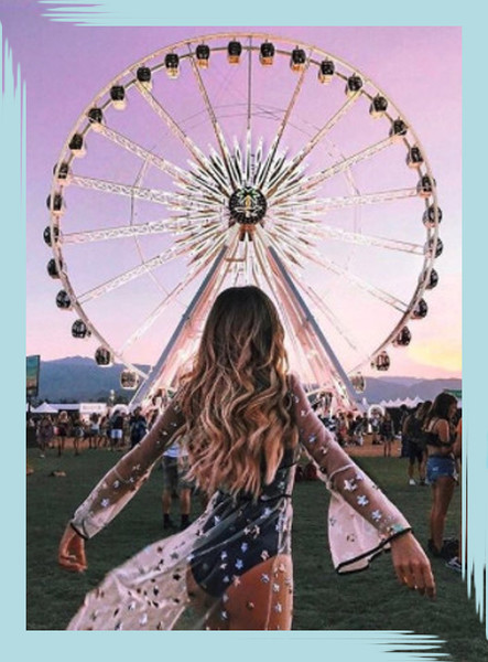 Festival Outfits And Beauty Inspo For The Free Spirit In All Of Us