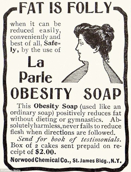 Washing Away Fat With Soap