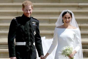 What Real-Life Princesses Wore for Their Weddings