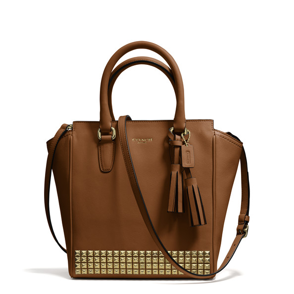 A Classic Leather Bag With a Modern Twist