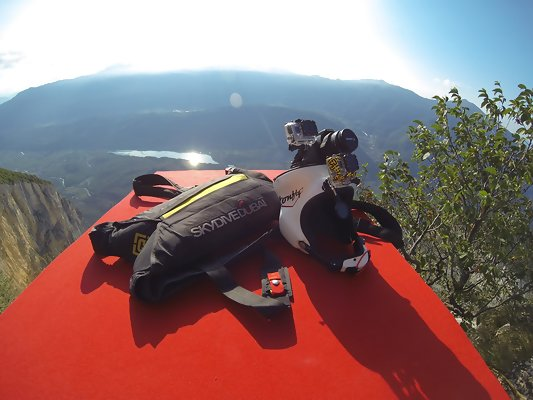 BASE Jumping Monte Brento