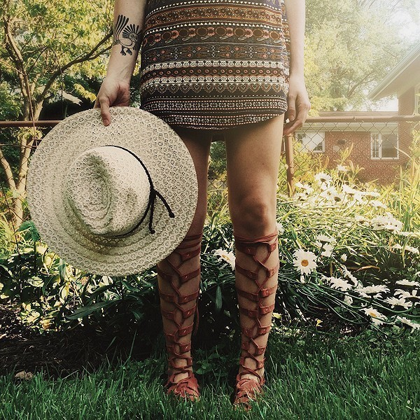 What to Wear: With Gladiator Sandals