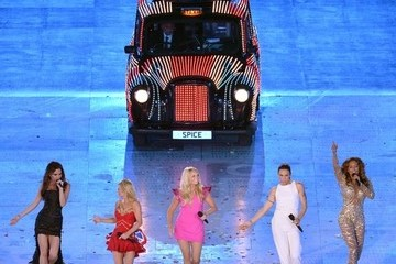 FINALLY: The Spice Girls Reunite at the 2012 London Olympic Closing Ceremony