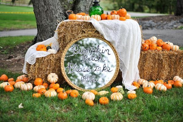 You can get way creative with pumpkin decor.