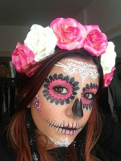 Lace Dotwork Celebrate Day Of The Dead With These Sugar