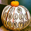 Home Sweet Haunted Hill Pumpkin