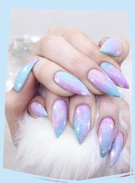 Galaxy Nail Art Ideas