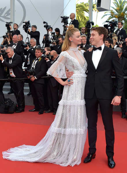 Anya Taylor-Joy And George MacKay At The 2017 Cannes Film Festival