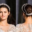Updo Adorned with Headpiece