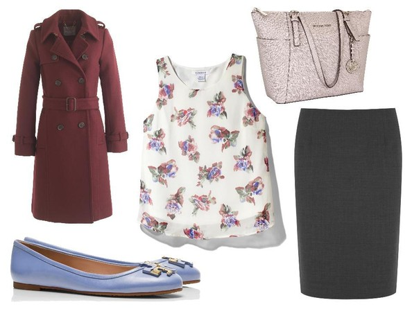 A Preppy-Floral Outfit Like Liza Weil's on 'How to Get Away with Murder'