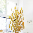 Go All Out With A Gold Pom-Pom Tree