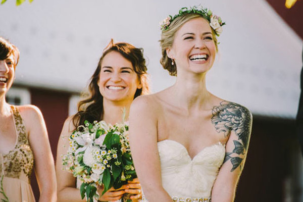 Gorgeous Brides Flaunting Gorgeous Tattoos