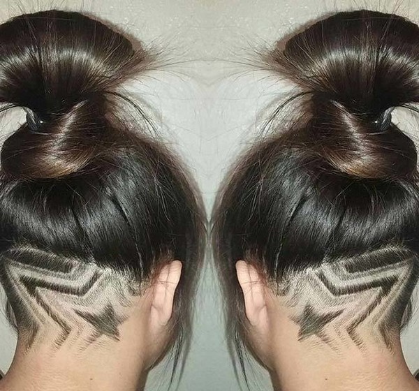 Trendy Haircuts 2018 50 Women S With Back Undercut Design You