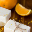 DIY Orange Creamsicle Soap