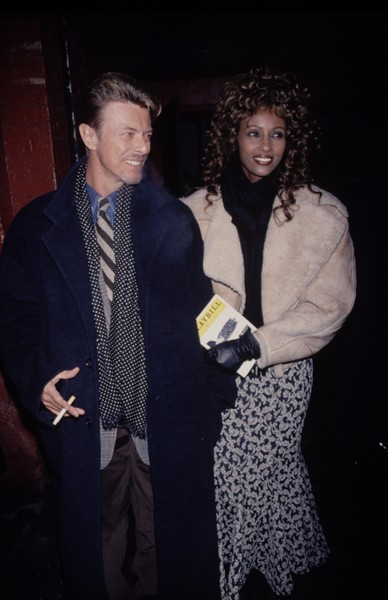 1992: David Bowie And Iman