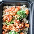 Asian Style Chicken, Veggies, And Rice