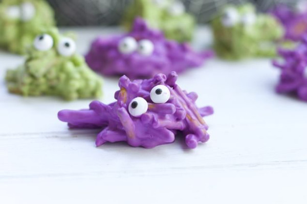 Chocolate Covered Pretzel Monsters