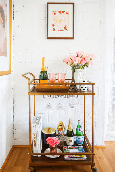 Must-See Bar Cart Eye Candy And Inspiration