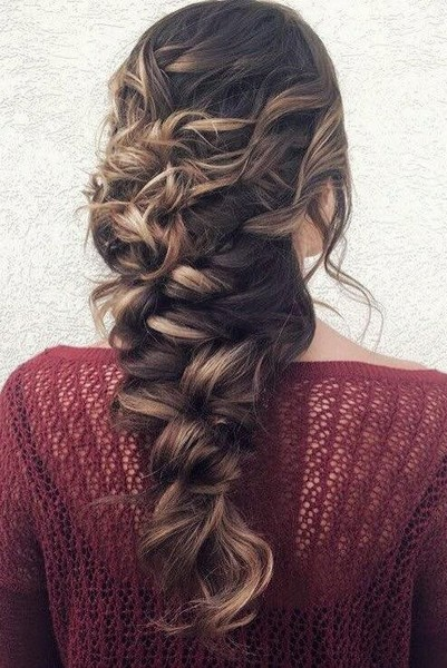 Messy Mermaid Braid