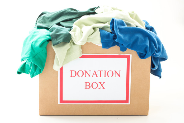 Have a Donation Box at the Ready