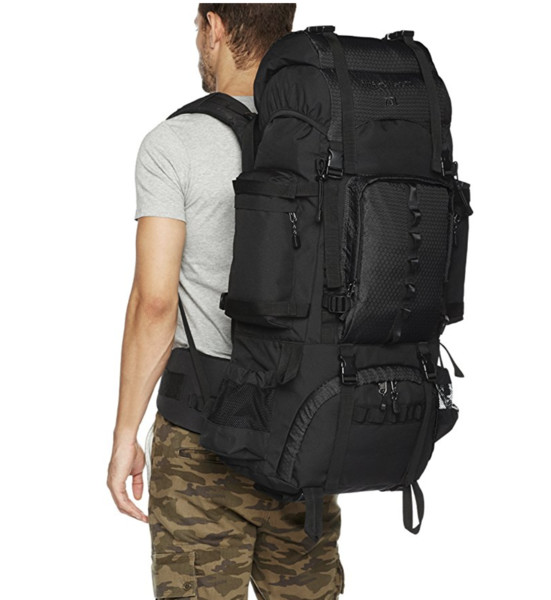 AmazonBasics Internal Frame Hiking Backpack