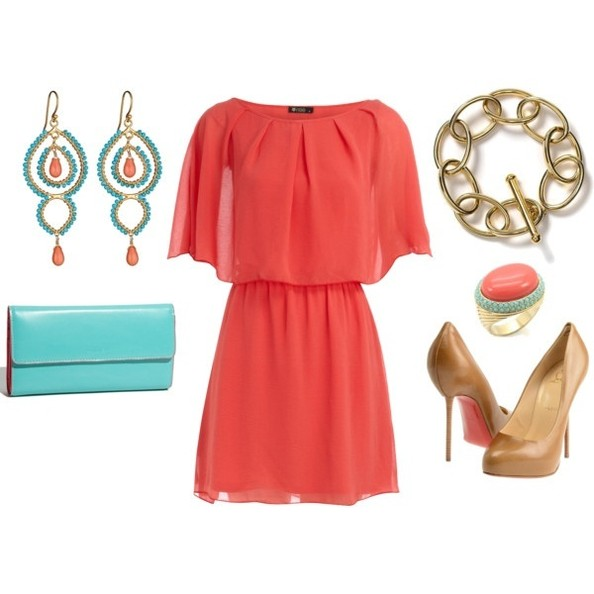 Coral Coloured Shoes New Look