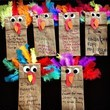 Get animated with turkey puppets
