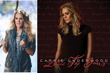 """Steal Carrie Underwood's Edgy Maternity Style in """"Little Toy Guns"""""""