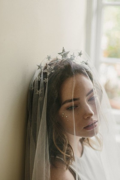 Cosmic Bridal Headband