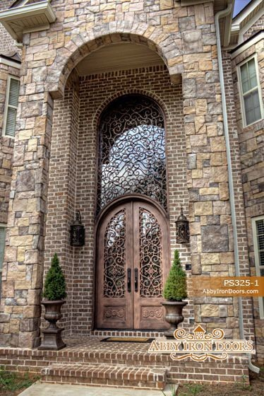 Intricate Iron Front