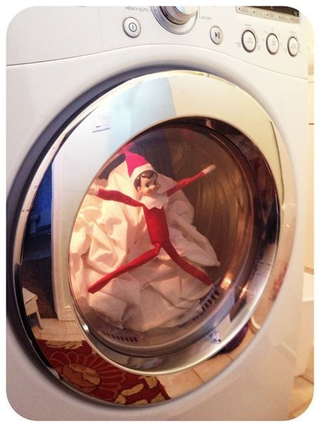 Stuck In The Washing Machine