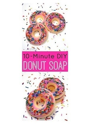 DIY Scented Donut Soap