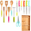 Colorful Kitchen Tools
