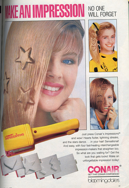Crimped Hair Shapes