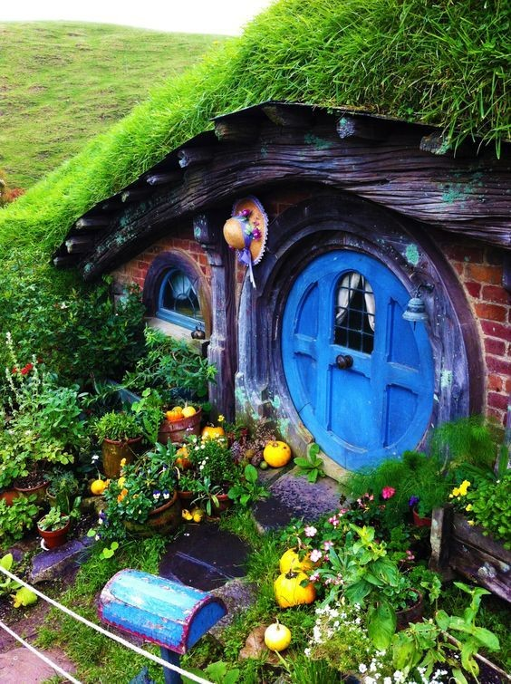 Hobbits Home Sweet and Whimsical Miniature Fairy Garden