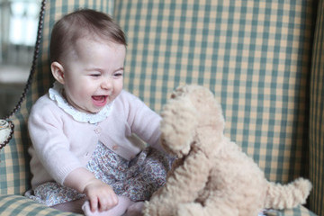 See Two New Pictures of Princess Charlotte