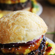 Teriyaki Black Bean Burgers