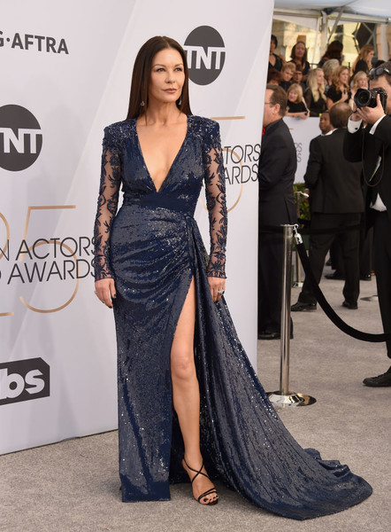 Catherine Zeta-Jones In Zuhair Murad Couture