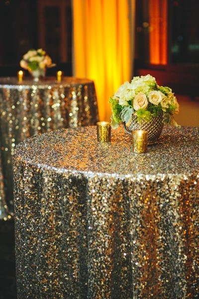 Sequined Table Cloths