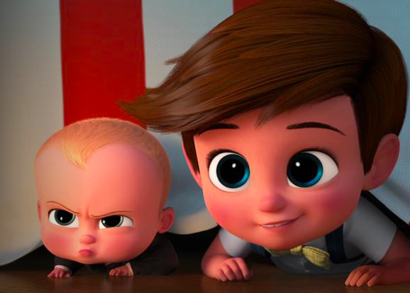 The Boss Baby (2017, PG)