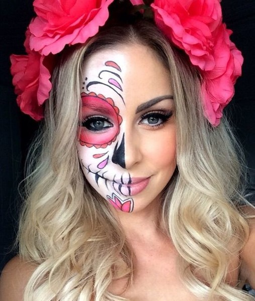 Pink Candy Skull