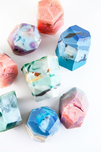 gemstone craft ideas gemstone soap diy s day crafts for livingly 2075