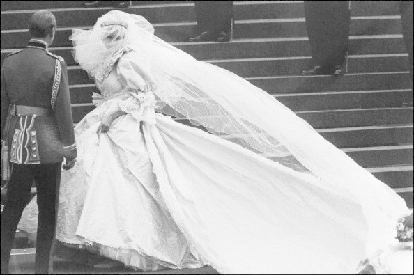 Diana's Wedding Day