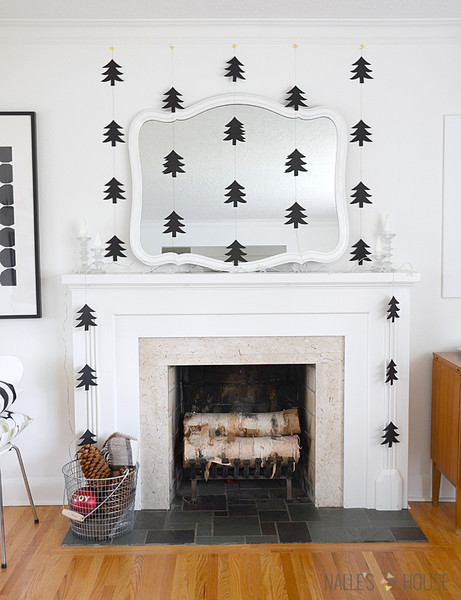 Keep It Simple With Modern Paper Garlands
