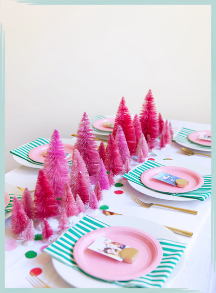 DIY Christmas Table Decor Ideas