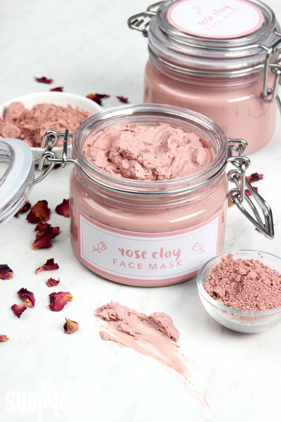 DIY Rose Clay Face Mask