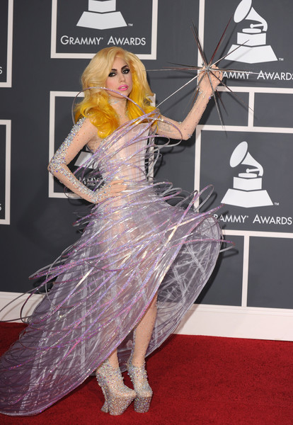 Lady Gaga In Armani Prive, 2010