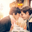 Kissing During A Meal Is A-OK