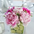 Pink & Lime Centerpieces
