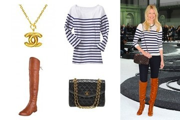 Shop This: Claudia Schiffer Sets Sail in Chanel